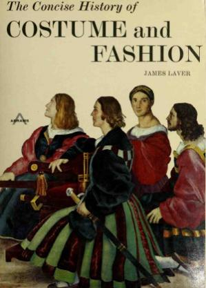书籍封面 The Concise History of Costume and Fashion