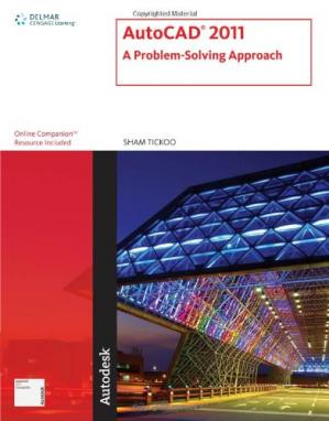 पुस्तक कवर AutoCAD 2011: a problem solving approach