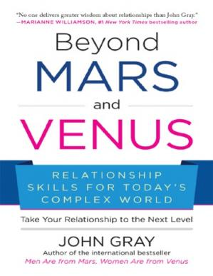 Book cover Beyond Mars and Venus