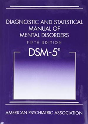 Book cover DSM-5 DSM 5 DSM5 DIAGNOSTIC AND STATISTICAL MANUAL OF MENTAL DISORDERS