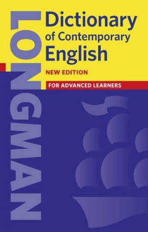 Kulit buku Longman Dictionary of Contemporary English (mobipocket)