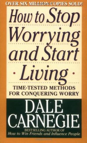 Book cover How to stop worrying and start living