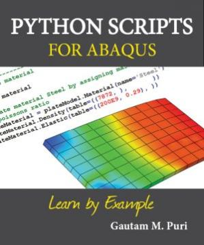 Buchdeckel Python Scripts for ABAQUS: Learn by Example