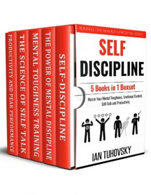 Buchdeckel Self Discipline: 5 Books in 1: Master Your Mental Toughness, Emotional Control, Self-Talk and Productivity