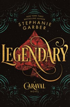 Book cover Legendary: A Caraval Novel