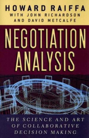 Copertina Negotiation Analysis: The Science and Art of Collaborative Decision Making