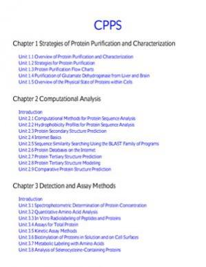 Book cover Current Protocols In Protein Science