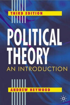 Book cover Political Theory, : An Introduction
