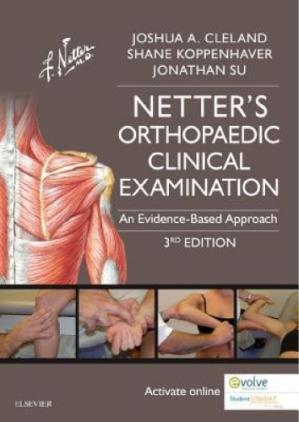 Book cover Netter's Orthopaedic Clinical Examination: An Evidence-Based Approach