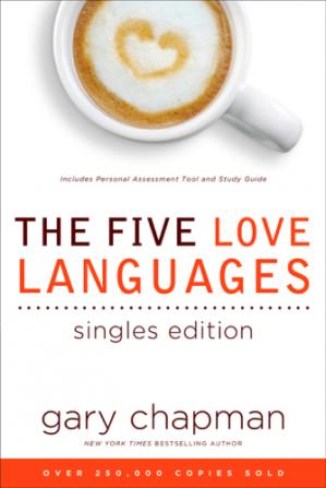 Εξώφυλλο βιβλίου The Five Love Languages Singles Edition