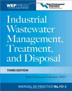 Book cover Industrial Wastewater Management, Treatment, and Disposal, 3e MOP FD-3