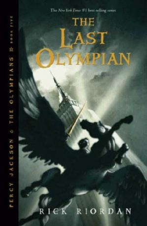 Book cover The Last Olympian (Percy Jackson and the Olympians, Book 5)
