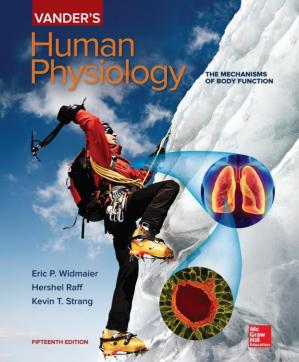 Book cover Vander's Human Physiology