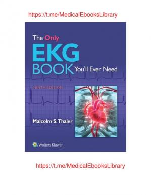 Book cover The Only EKG Book You'll Ever Need