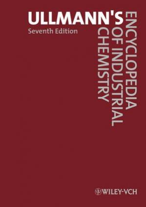 Copertina Ullmann's Encyclopedia of Industrial Chemistry