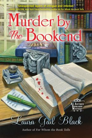 Book cover Murder by the Bookend
