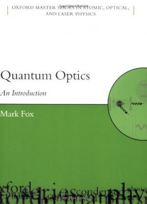 Book cover Quantum optics: an introduction