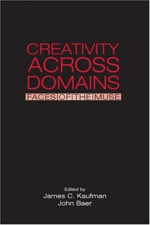 A capa do livro Creativity Across Domains: Faces of the Muse