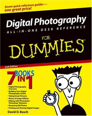 Book cover Digital Photography All-in-One Desk Reference For Dummies (For Dummies (Computer/Tech))