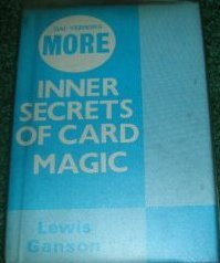 Book cover Dai Vernon's More Inner Secrets of Card Magic