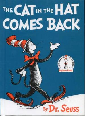 Book cover The Cat in the Hat Comes Back