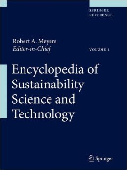 Обложка книги Encyclopedia of Sustainability Science and Technology. Part 2: L-W