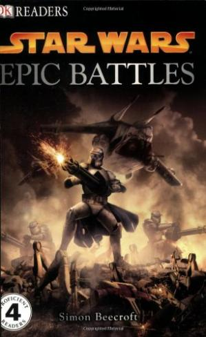 Book cover Star War Epic Battles