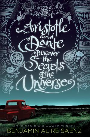 పుస్తక అట్ట Aristotle and Dante Discover the Secrets of the Universe