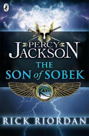 Book cover Percy Jackson - The Son of Sobek