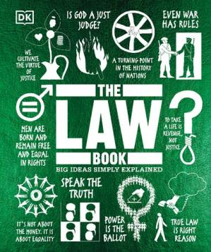 Book cover The Law Book: Big Ideas Simply Explained
