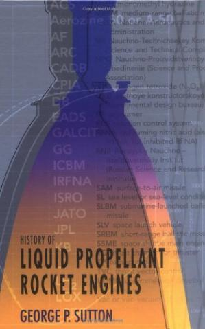 Book cover History of Liquid Propellant Rocket Engines