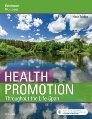 Book cover Health promotion throughout the lifespan