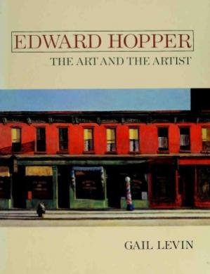 Sampul buku Edward Hopper - The Art and The Artist