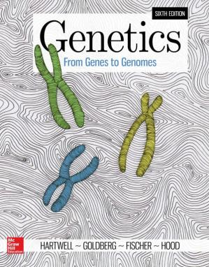 书籍封面 Genetics: From Genes to Genomes