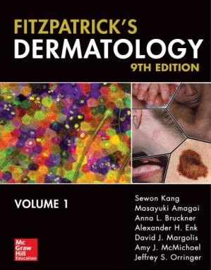 Обложка книги Fitzpatrick's Dermatology [2-Volume Set]