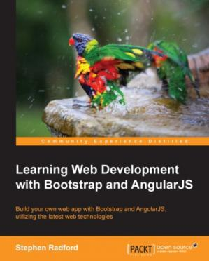 Copertina Learning Web Development with Bootstrap and AngularJS