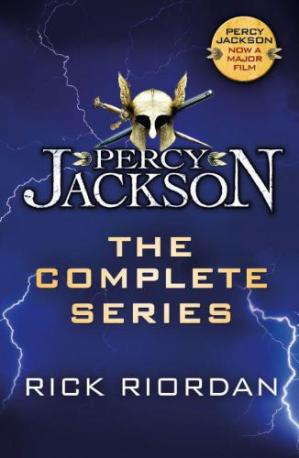 Book cover Percy Jackson - The Complete Series