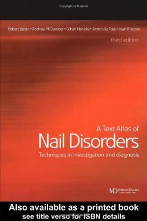 Обложка книги A Text Atlas of Nail Disorders: Techniques in Investigation and Diagnosis