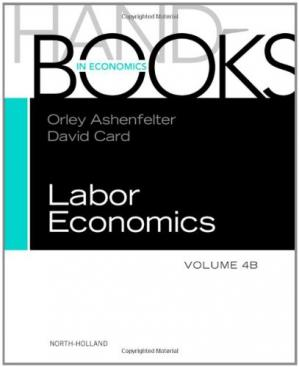 表紙 Handbook of Labor Economics, Volume 4B