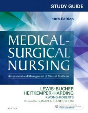 Book cover Study Guide for Medical-Surgical Nursing: Assessment and Management of Clinical Problems