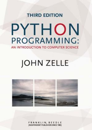 Copertina Python Programming: An Introduction to Computer Science 3rd Edition