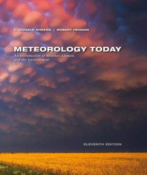 Book cover Meteorology Today: Introduction to Weather, Climate, and the Environment