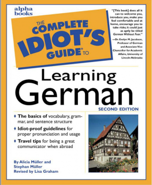 Sampul buku The Complete Idiot's Guide to Learning German