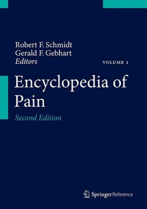 Book cover Encyclopedia of Pain (7 Volume Set)