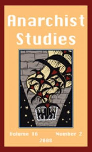 Book cover Anarchist Studies (2008) Volume 16, Issue 2 16 2