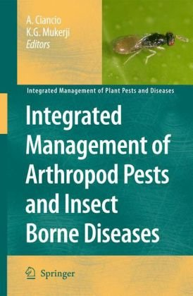 Copertina Integrated Management of Arthropod Pests and Insect Borne Diseases