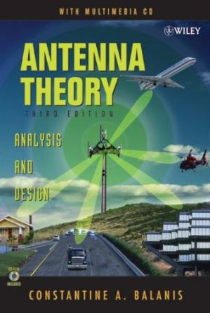 Copertina Antenna Theory: Analysis and Design, 3rd Edition