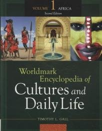 Couverture du livre Worldmark Encyclopedia of Cultures and Daily Life