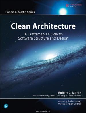 Обложка книги Clean Architecture: A Craftsman's Guide to Software Structure and Design
