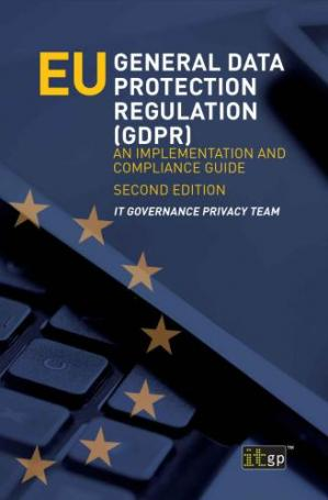 Обкладинка книги EU General Data Protection Regulation (GDPR) An Implementation and Compliance Guide